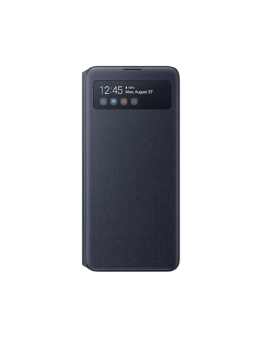 S View Cover Note10 Lite Black