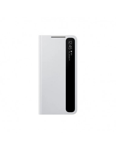 Smart Clear View Cover S21 Light Gray